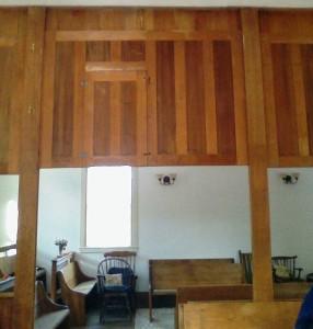 Woolman Hill Meetinghouse interior